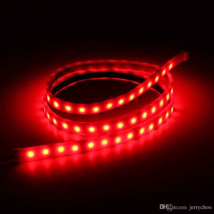 뜨거운 판매 RGB 주도 동적 스 트리머 턴 신호 꼬리 브레이크 LED 경고 자동차 SUV에 대 한 빛을 반전