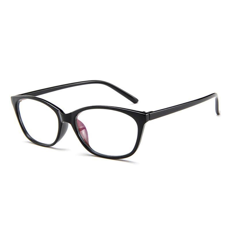 6e1923dbd5a18 Compre Cubojue Cat Eye Óculos Mulheres Nerd Pontos Pequenos Armações De Óculos  Feminino Miopia Prescrição Optical Lens Mulher Vintage Grau 0 De Xailiang