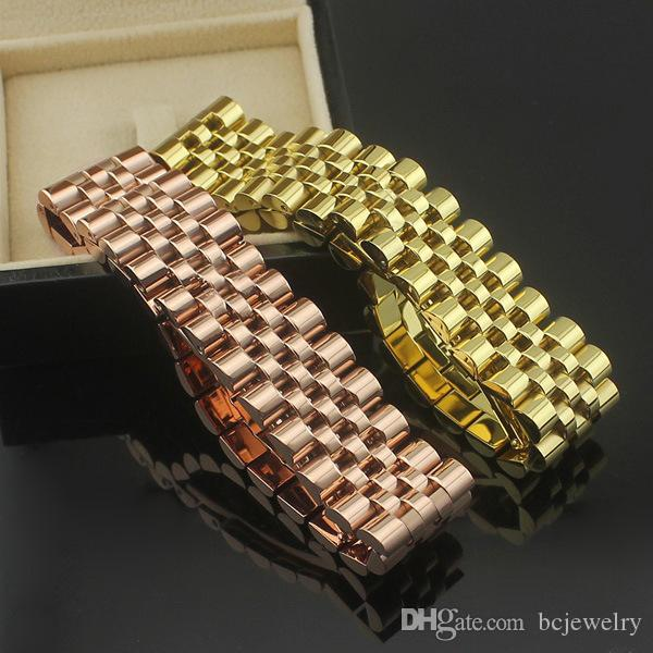 BC new chic watchband bracelet for women / men / Lady fashion cuff charm bijoux Crown bangle fine Jewelry Gift
