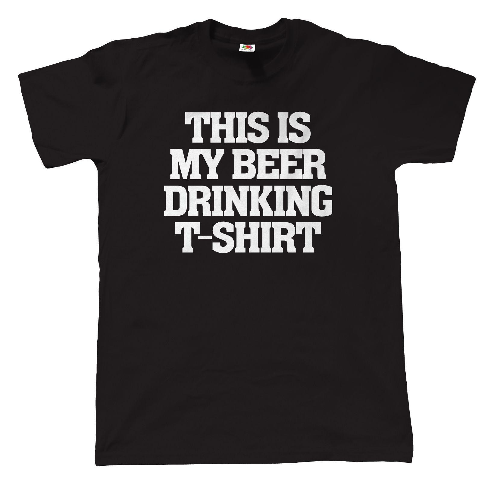 b0ee3cce This Is My Beer Drinking T Shirt Gift For Dad Birthday CAMRA Real Ale Cool  Casual Pride T Shirt Men Unisex New Fashion Tshirt T Shirt Shop Design  Crazy T ...