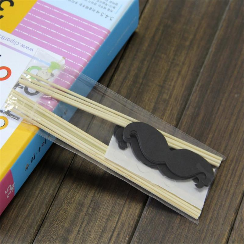 Wedding Decoration Photo Booth Props Funny Glasses Mustache Birthday Party Decoration Supplies Photobooth Props
