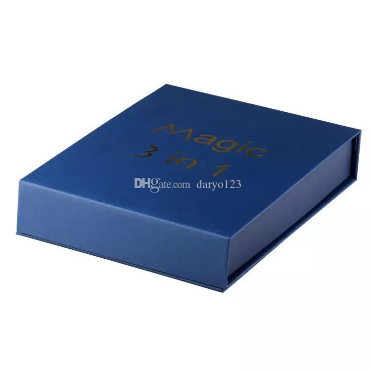 Magic 3 in 1 Vaporizer Starter Kits with Dry Herb AGO G5 MT3 Wax Glass Globe atomizer EVOD Battery E Cigarette Vape pen