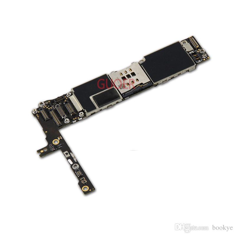 ل iPhone 6 Plus Mainboard 100 ٪ الأصلي مقفلة ل iphone6 زائد 16GB 64GB اللوحة الأم دون لمسة معرف وظيفة ذات نوعية جيدة