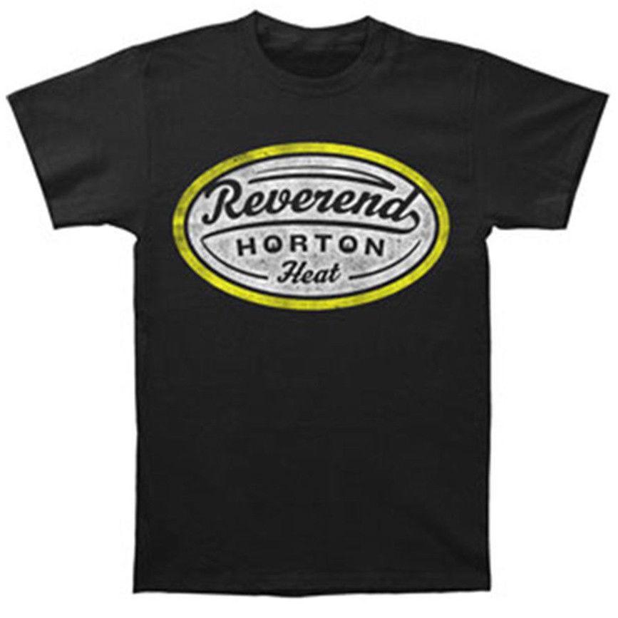 Summer Hot Sale New Tee Print Reverend Horton Heat Mens Label T