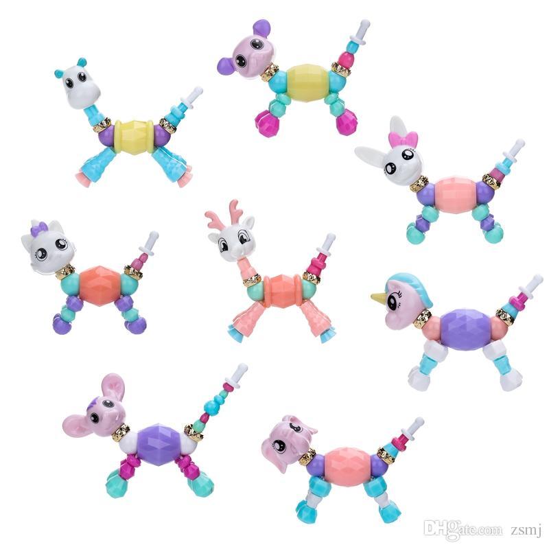 Großhandel Twisty Petz 8 Arten Diy Mädchen Armbänder Spielzeug Für ...