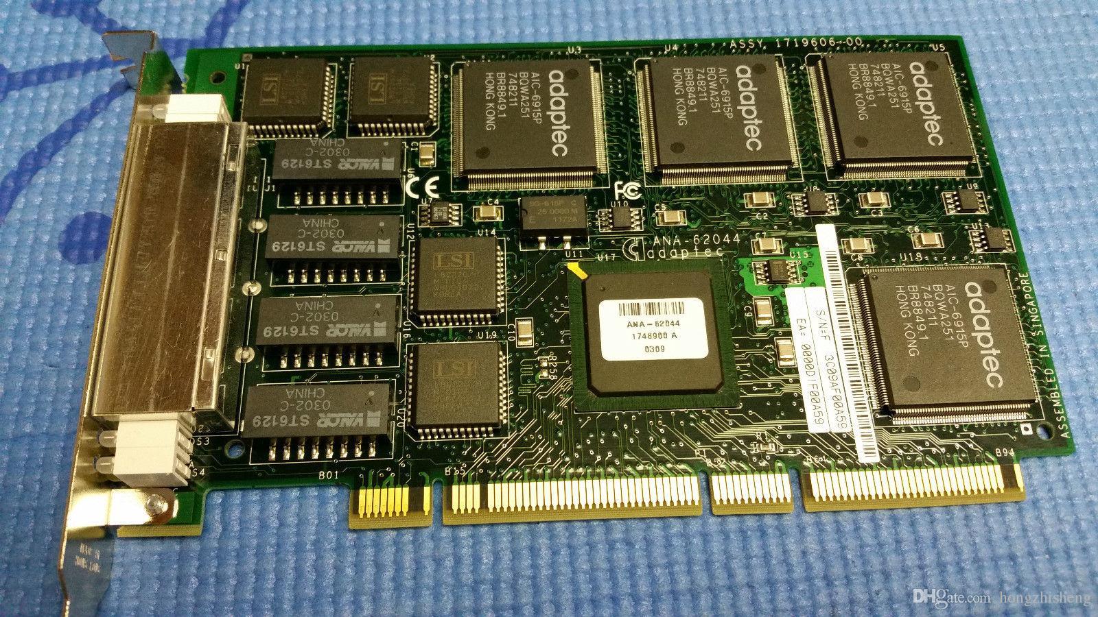 ANA-I 64-разрядный четырехъядерный 4-портовый сетевой адаптер Ethernet Lan