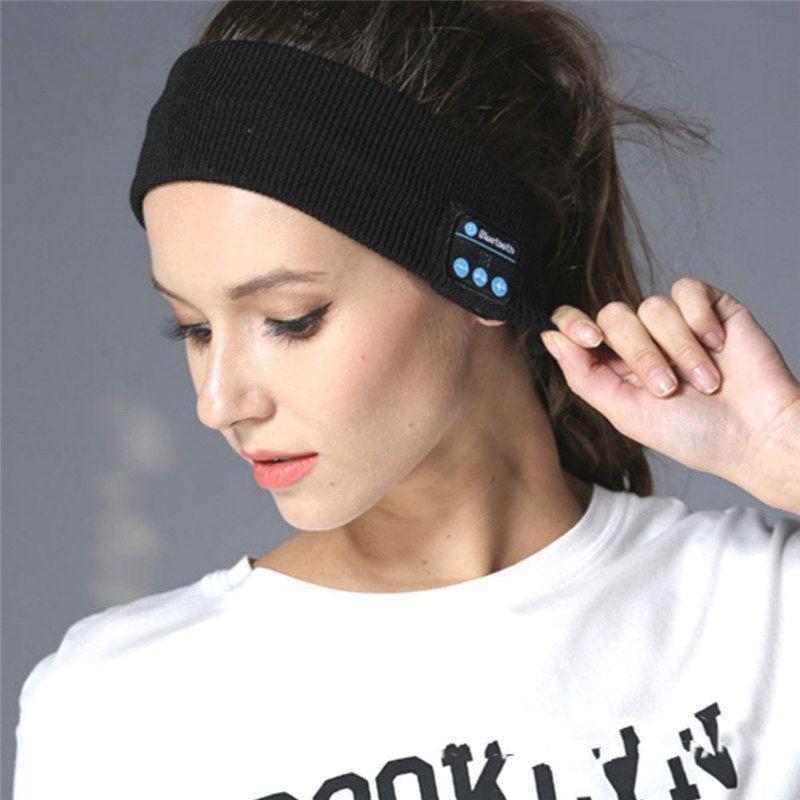 Kids wireless headphones headband - running headphones headband
