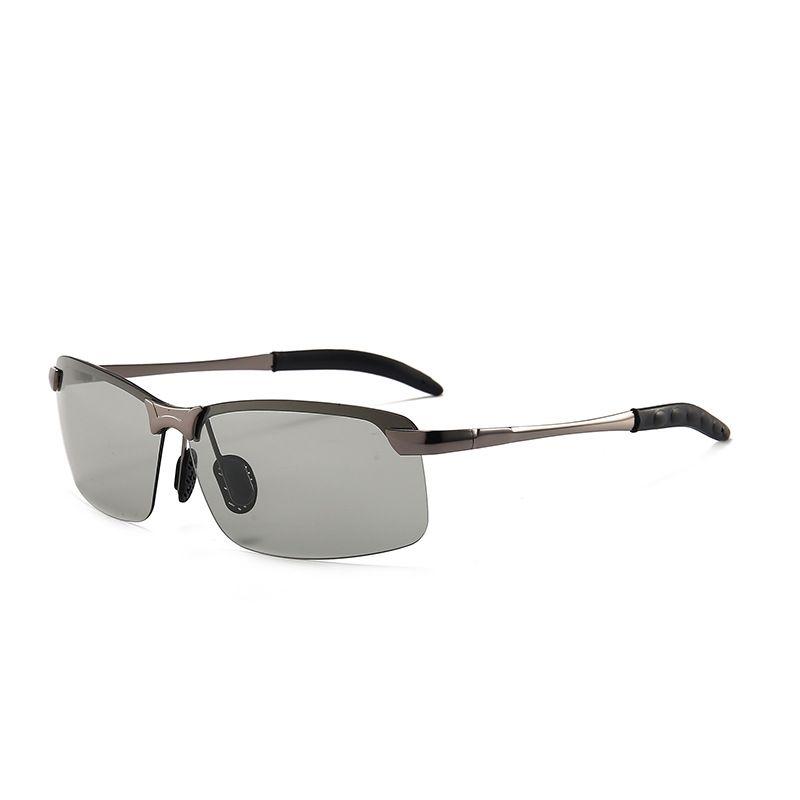 Compre Vazrobe Sin Montura Gafas De Sol Fotocromáticas Polarizadas Hombres  Mujeres Que Conducen La Transición Gafas De Sol Para Hombre Mujer ... 8e8ea791b8c6