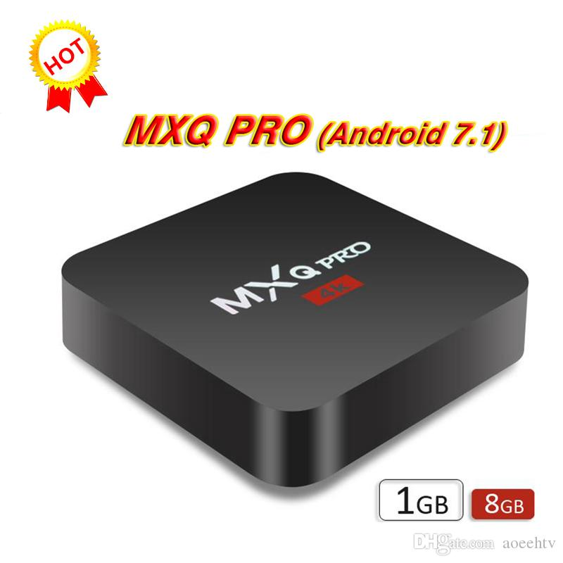 MXQ Pro 4K Amlogic S905X S905 RK3229 Quad Core Android TV BOX 1GB 8GB  2 4GHz WiFi H 265 HD