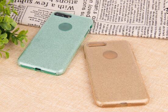 Flash-Telefonkasten der Qualitäts x für iphone 6s / 7/8 plus drei in einem tpu Schutzüberzug
