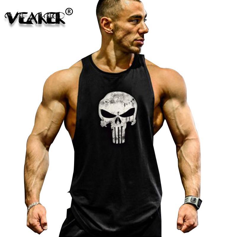 6c0cacd02cde38 2018 New Men s Fitness Tank Tops Sleeveless T Shirt Men Gyms Tank ...