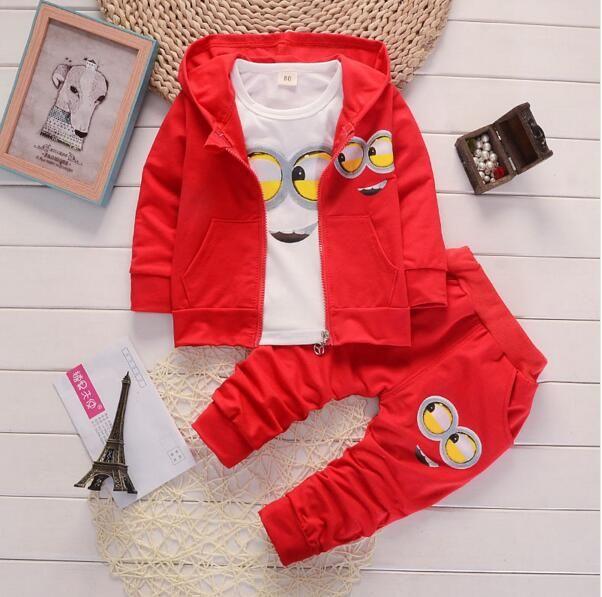 b9d8bb7c500d00 Acquista La Nuova Moda Abbigliamento Giallo Persone Imposta Bambino Bambini  Ragazzi Giacca + Polo + Pantaloni 3 Pezzi Di Abbigliamento Bambini Set 30D  A ...