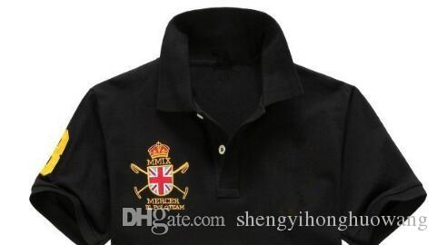 NEW Wholesale-2017 Summer Hot Sale Polo Shirt US sailing Game Brand Polos Men's Short Sleeve Sport Polo Man Coat Drop S-3XL