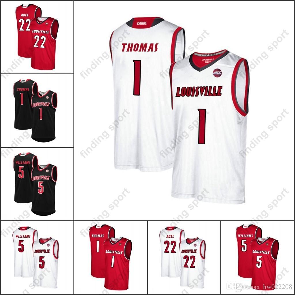 1dd5cff12 NCAA Louisville Cardinals College Mens Basketball Jerseys Anas Mahmoud  Darius Perry Jo Griffin Dwayne Sutton Ryan McMahon Nwora Online with   31.96 Piece on ...