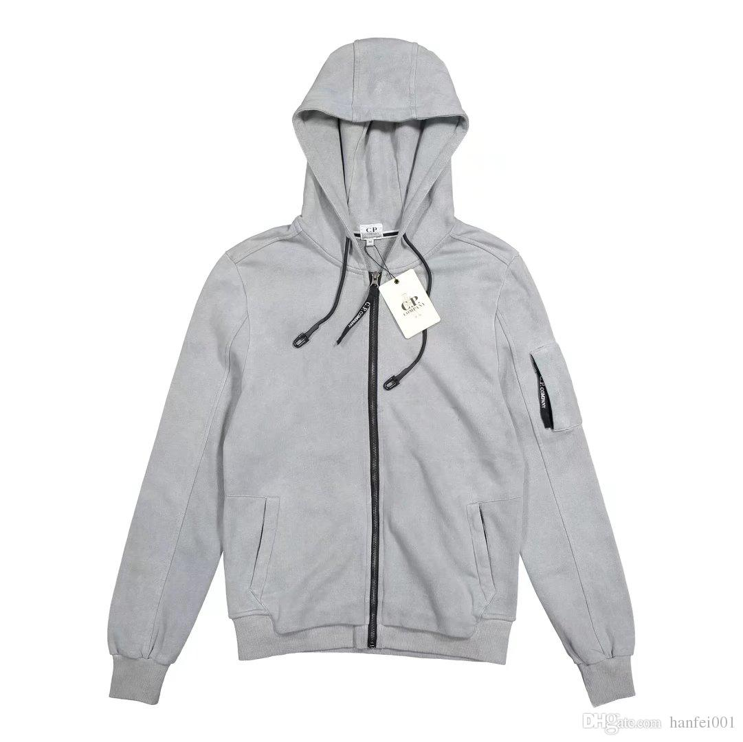 2ae37a4a3 18ss C.P. Company Hooded Jacket Men Women Fashion Zipper Windbreaker ...