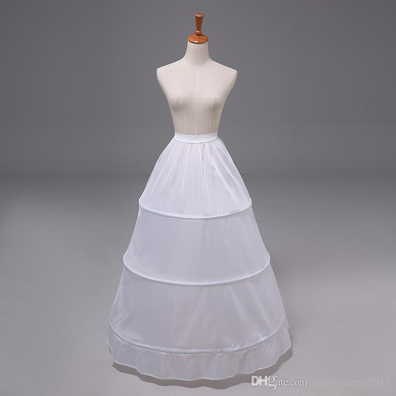 20a4eaae7860d 2018 In Stock Ball Gown Petticoat Cheap White Black Crinoline Underskirt  Wedding Dress Slip 6 Hoop Skirt Crinoline For Quinceanera Dress Lindy Bop  Petticoat ...