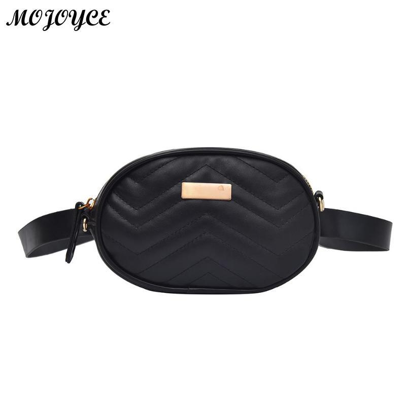 8fd13f14eb05 2018 Classic Trendy Waist Bags Fashion Women Belt Pack Mini Bag Pu Leather  Simple Casual Belt Bag Shoulder Crossbody Fanny Bags Online with   26.18 Piece on ...