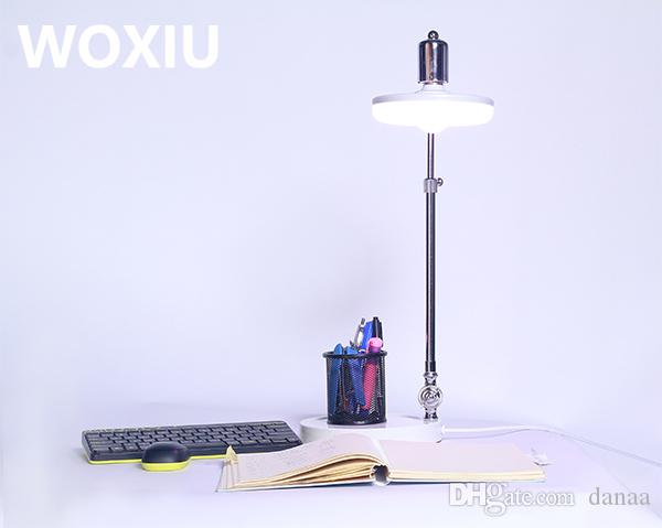 WOXIU LED 스펙트럼 식물 성장 테이블 램프 Potted 건강한 성장 필 라이트 효과 실내 홈 인테리어 샵 사무실 장식 식물 테이블 램프