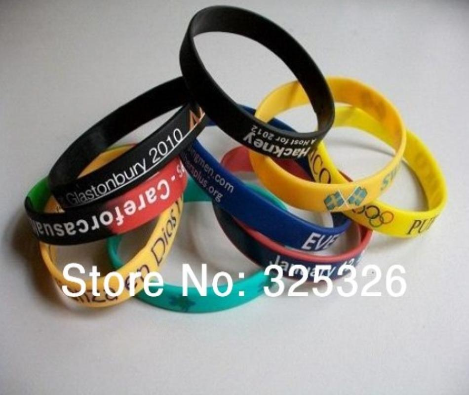 4a85b411bab64 cheap selling promotional Silicon Arm Baller Bands with custom design  fashion discount good quality wristband