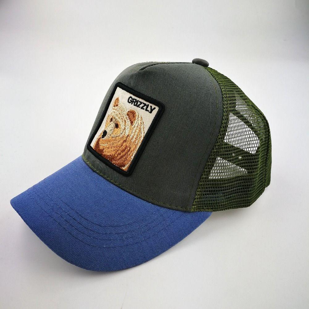 762aa8b4d88 Casual Baseball Caps For Men Embroidery Bear Snapback Cap Women Summer Mesh  Trucker Bones Unisex Hip Hop Hat Cotton Casq LU0447 Baseball Caps Cheap  Baseball ...