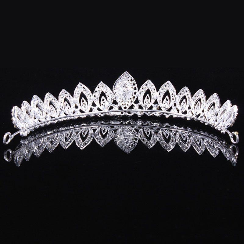 Dîner de mariage pour dames mariée couronne coiffe cheveux ornements bijoux fille bandeau fille robes accessoires de performance
