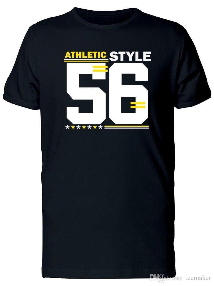 e4eb729e371 Athletic Style Varsity 56 Men S Tee T Shirt For Men Swag Custom Short  Sleeve Boyfriend S Plus Size T Shirts Designs Shirts Interesting T Shirt  Designs From ...