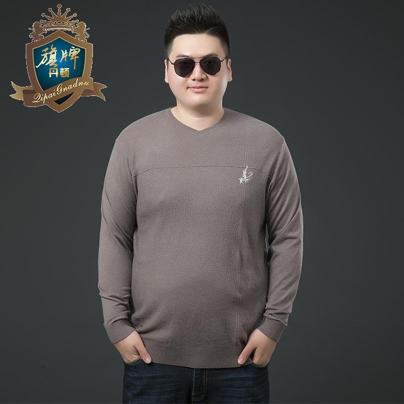 2019 Men Plus Size 6xl Cashmere Sweater Men Brand Clothing Sweaters