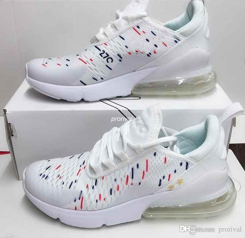 c05eda7f6d80 2018 New World Cup Champion France Mens Womens 270 Running Shoes ...