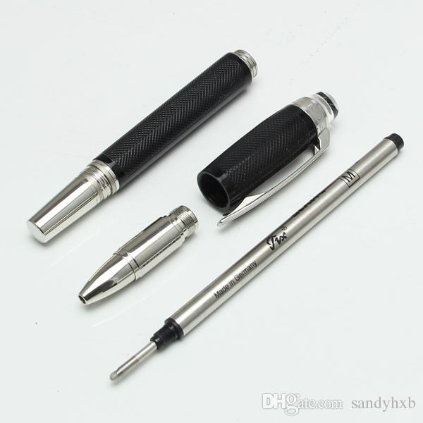 Luxury hot sale Urban Speed Ballpoint Pen/rollerball pen new black resin rollerball pen PVD-coated fittings for writing