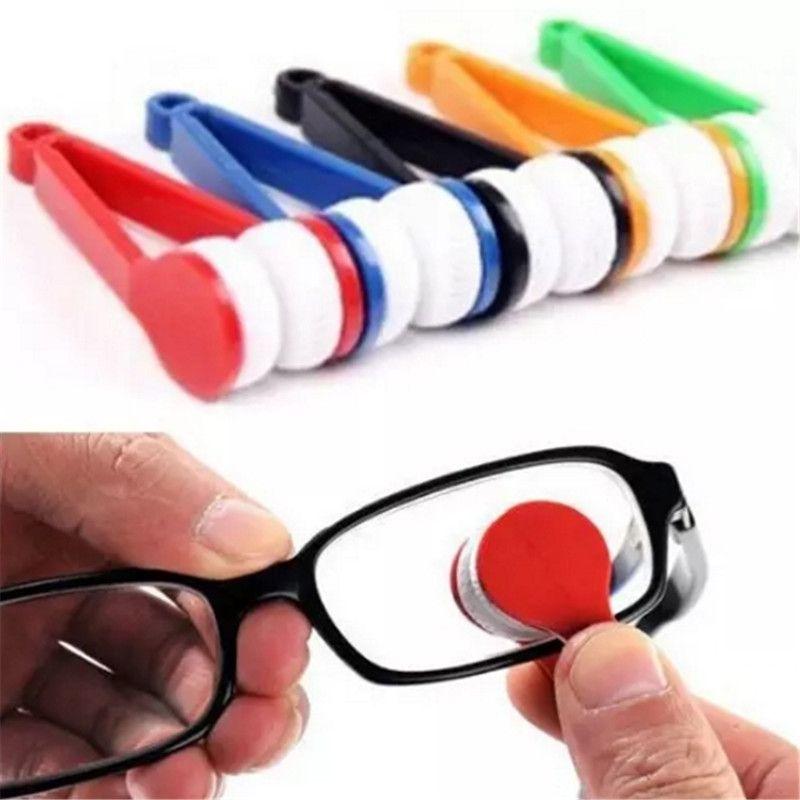 7685bbb0b Compre Frete Grátis Mini Óculos De Sol Óculos De Microfibra Escova Óculos  De Sol Limpador De Vidro Ferramenta De Limpeza De Óculos Escova Limpa Aa514  521 ...