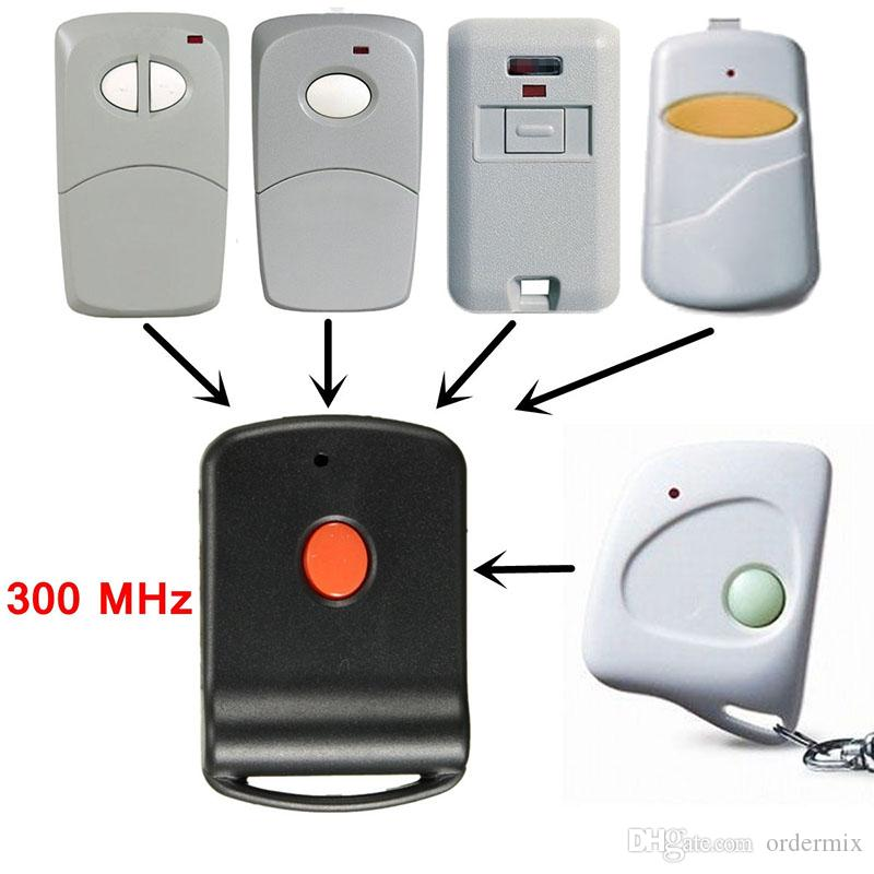 Mini Wireless Remote Garage Control Key Door Gate Opener Transmitter Fit For 300 MHz Multicode gate garage door opener systems