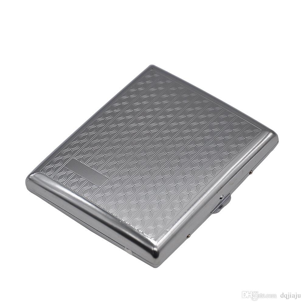 Il più nuovo contenitore scatole portasigarette in metallo Contenitore accendini in stile 4 contenitori utensili da fumo Accessori A prova di umidità