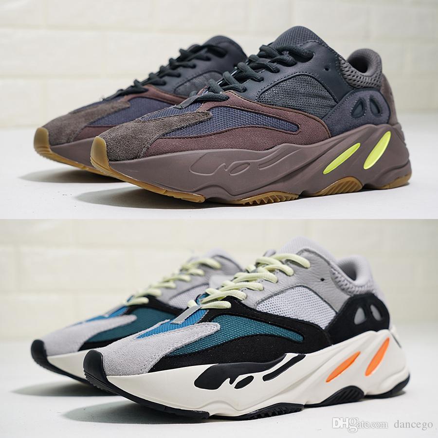 d32249897ab0a Para Yeezy Malva Wave Runner Correr 700 Box Adidas Zapatos Boost Con wpzqW