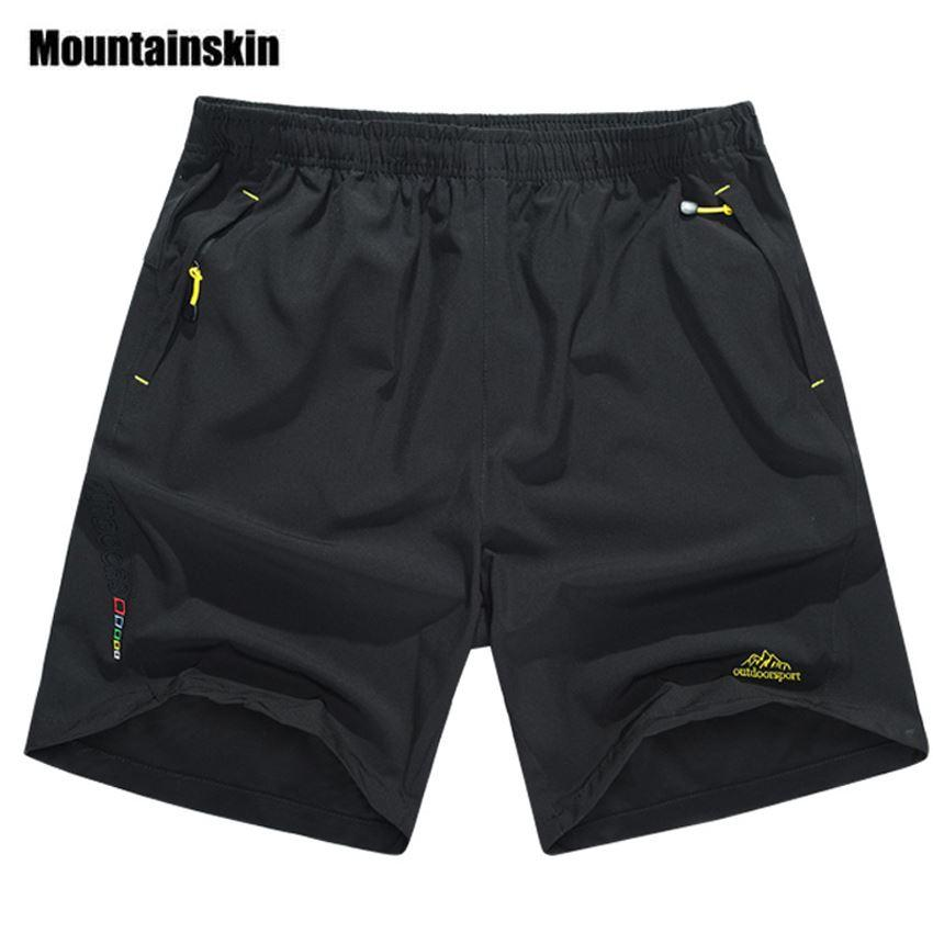 33b2ba724a 2018 Mountainskin Summer Men'S Quick Dry Shorts 8xl 2018 Casual Men Beach  Shorts Breathable Trouser Male Shorts Brand Clothing Sa198 From Menshow, ...