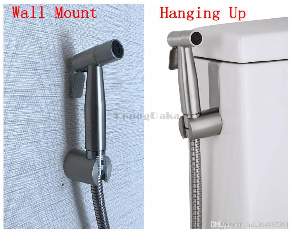 Handheld Bidet Spray Shower Set Toilet Shattaf Sprayer Douche Kit ...