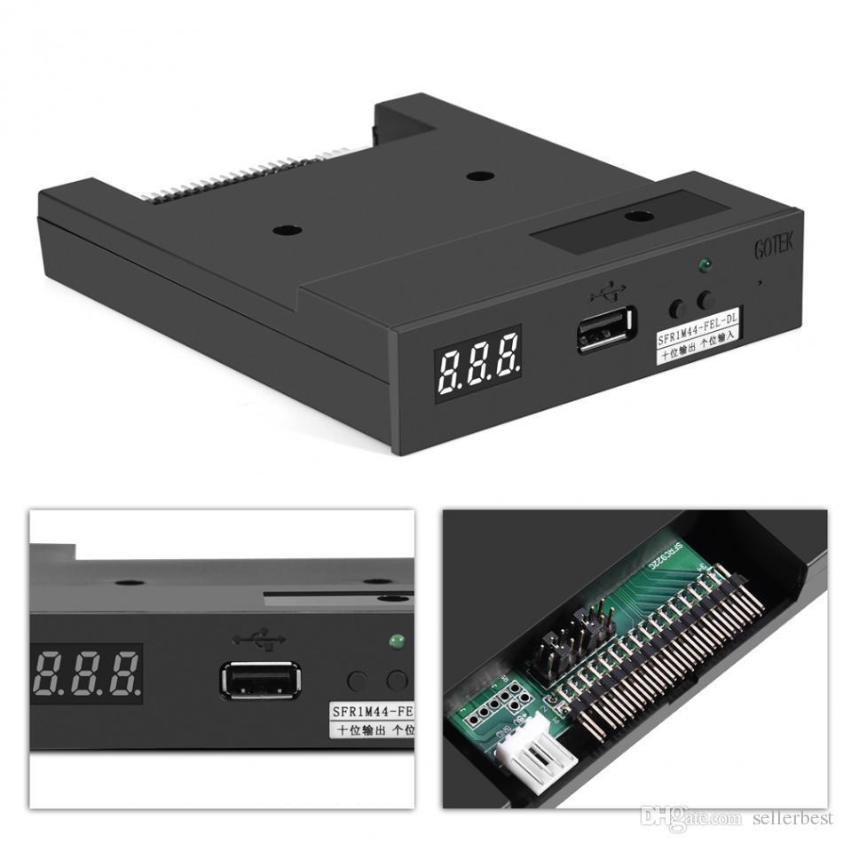 SFR1M44-FEL-DL 3.5 inç 1.44 MB Müzikal Klavye için USB SSD Disket Sürücü Emülatörü