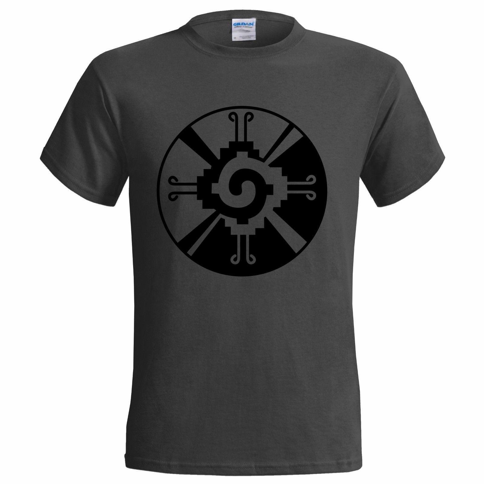 Hunab Ku Symbol Mens T Shirt Mayan Religion Masonic