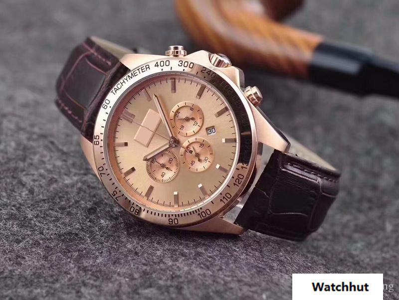 b9e94e022e0 Compre AAA Homens De Luxo Moda Top Marca Super Mens Relógio Mecânico  Automático 1512963 Homens De Luxo Discagem Motorista Preto Homens De Couro  Chefe Big ...