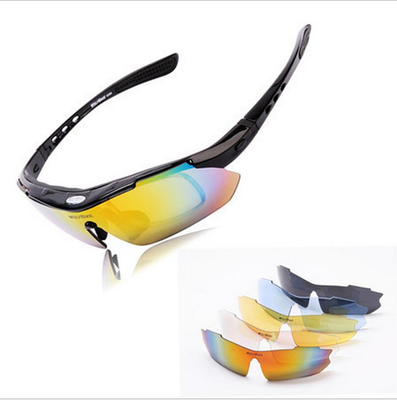 77c0ef4f2495f 2019 Wholesale Polarized Cycling Glasses Bike Outdoor Sports Bicycle  Sunglasses Goggles 5 Groups Of Lenses Eyewear Myopia Frame From  Hengyicentral