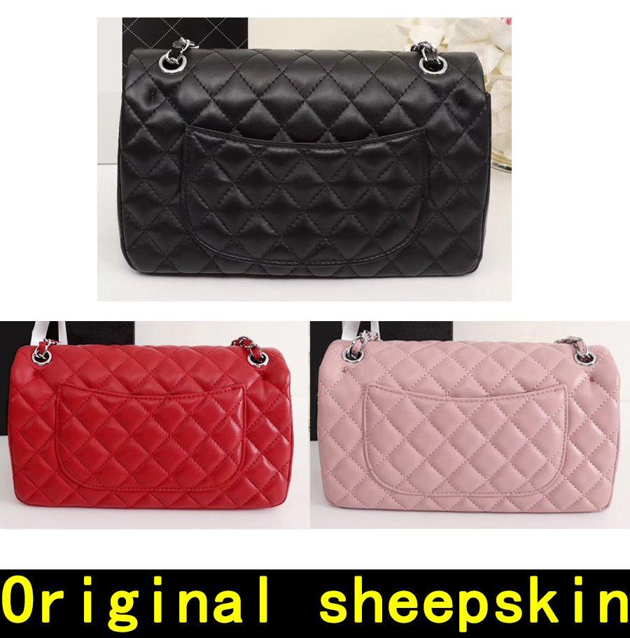 e2664d3dfee8 Luxury Handbags High Quality Original Sheepskin Real Leather Chain ...