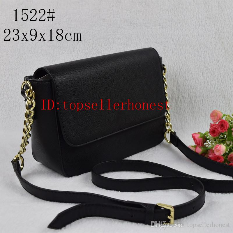 fashion women designer handbag PU leather bags shoulder message bag crossbody chain purse