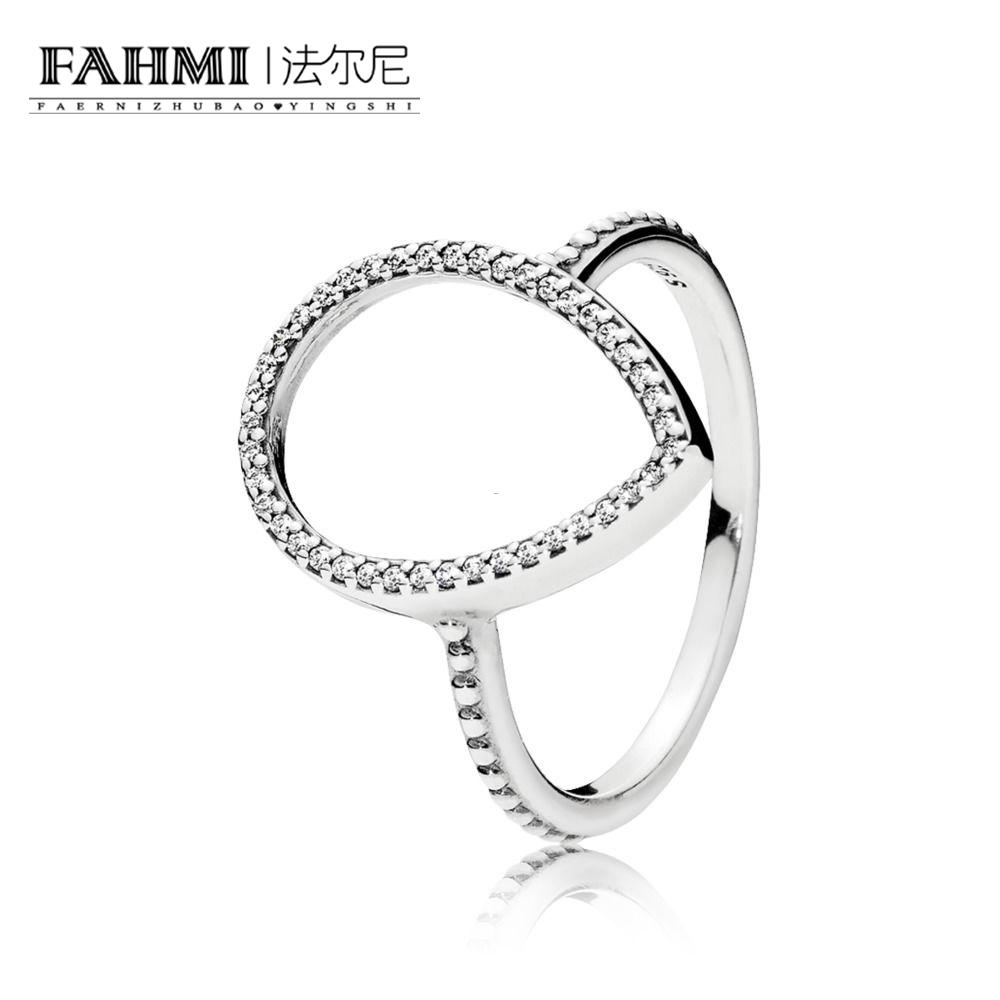 2019 Fahmi 100 Sterling Silver Glamour 196253cz Teardrop Silhouette Ring Original Women Wedding Fashion Jewelry 2018 From Lantana 3491 Dhgate: And Wedding White Rings Black Sulowett At Reisefeber.org