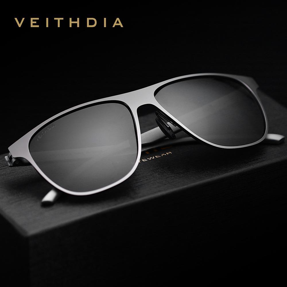 a305a87c7c1 VEITHDIA Stainless Steel Frame TR90 Leg Men S Sunglasses Polarized UV400  Lens Eyewear Accessories Male Sun Glasses For Men Women D18102305 Glass  Frames ...