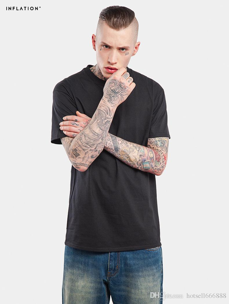 hot Fashion men extended t shirt longline hip hop tee shirts women swag clothes harajuku rock tshirt homme