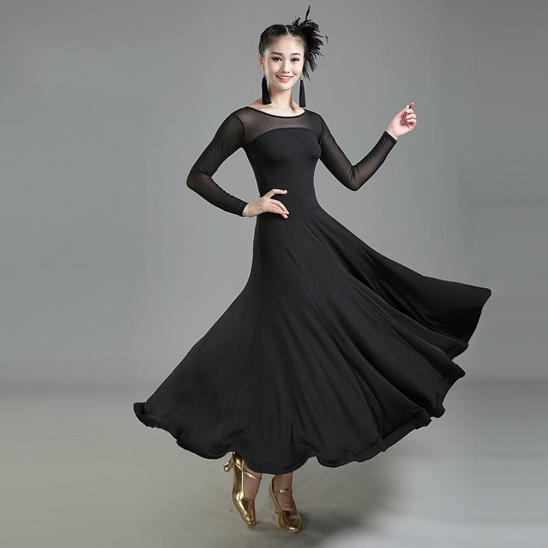 a29a44a4eddb9 2019 New Design Modern Ballroom Dance Dress For Ballroom Dancing Waltz  Tango Spanish Flamenco Dress Standard Swing From Luhaluha, $60.43 |  DHgate.Com