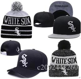 ef84db5629d 2019 White Sox Hat Snapback Cap Champions Sox Beanie All Teams Men Women  Knitted Beanies Wool Hat Knit Bonnet Beanie Gorro Winter Warm Cap Ball Caps  Fitted ...