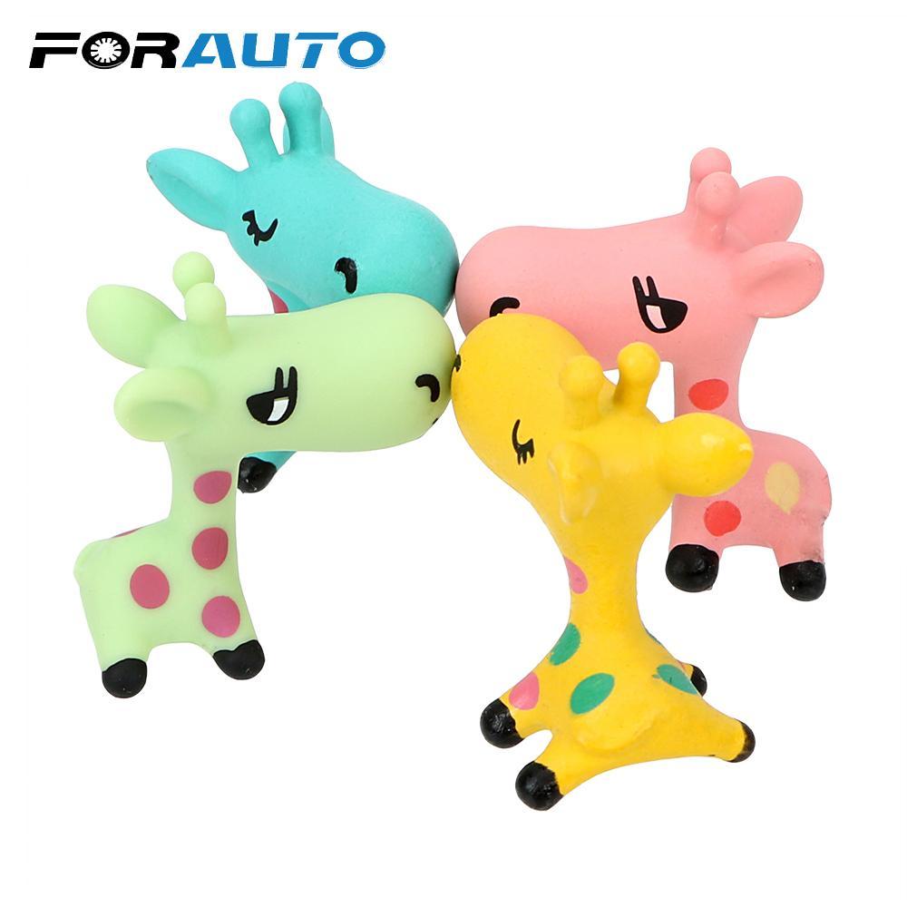 Forauto Car Ornaments Animals Miniature Giraffe Dashboard Decoration