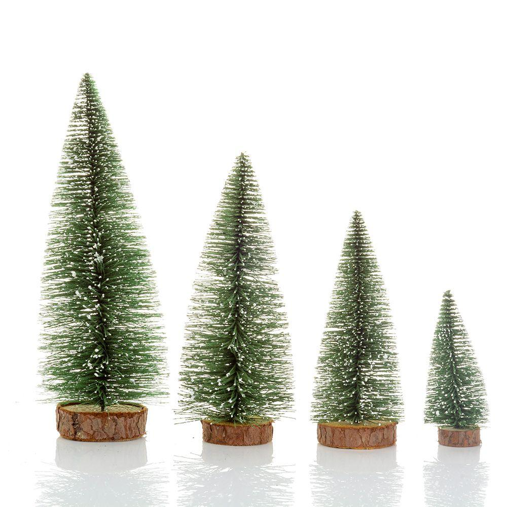 christmas trees small pine tree placed in the desktop mini christmas decoration for home xmas trees cheap trees 1pcs christmas trees small pine tree online - Christmas Trees Cheap