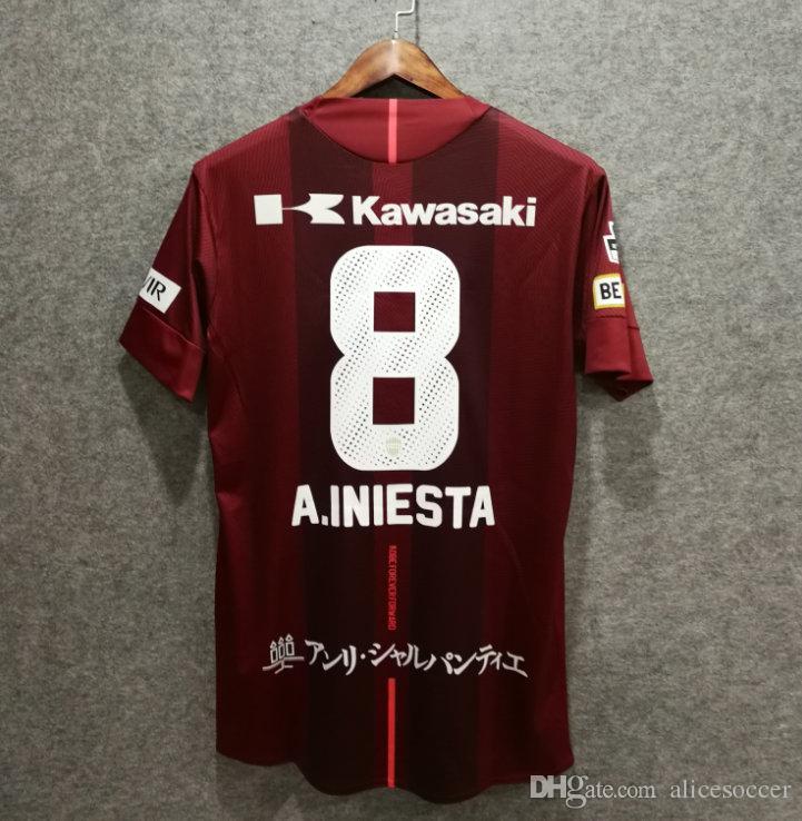 Nome Numero Lukas Thai Di Maglie Da Andres Vissel Calcio Abbigliamento Personalizzato 2018 Uniformi Qualità Calcio Kobe AAA Podolski Acquista Iniesta Y1Bq8xnUn