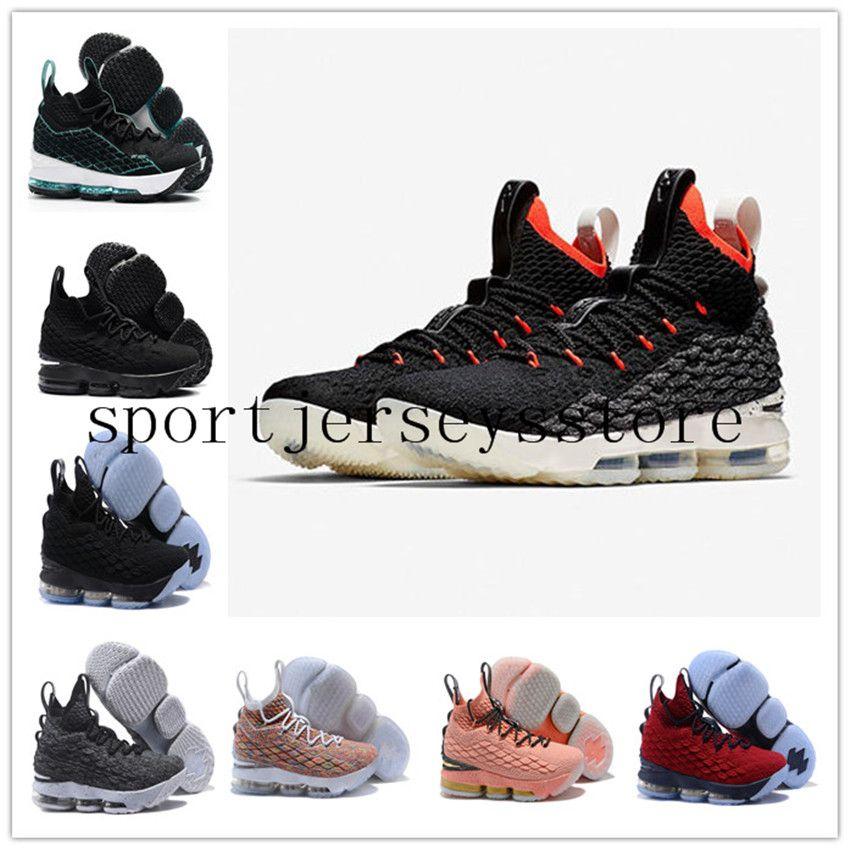 4199a22c4cc734 Cheap LeBron 15 Crimson LeBron 15 Fruity Pebbles Basketball Shoes James 15  Size US7-US12 Whith BOX Men Running Shoes Sports Shoes